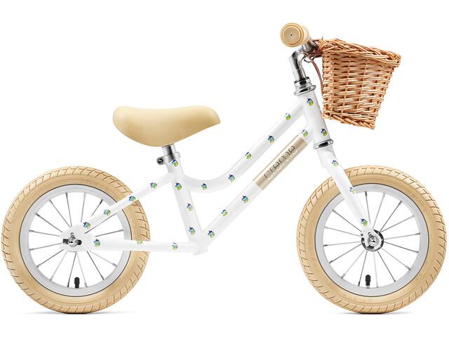 """Creme Mia Kids Push Bikes Children 12"""" white"""